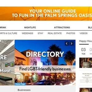 GayDesertGuide.com Named Palm Springs Business of the Year by Desert Business Assocation