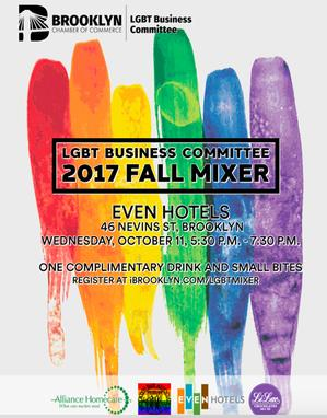 Brooklyn Chamber of Commerce Hosts LGBT Business Committee 2017 Fall Mixer on October 11
